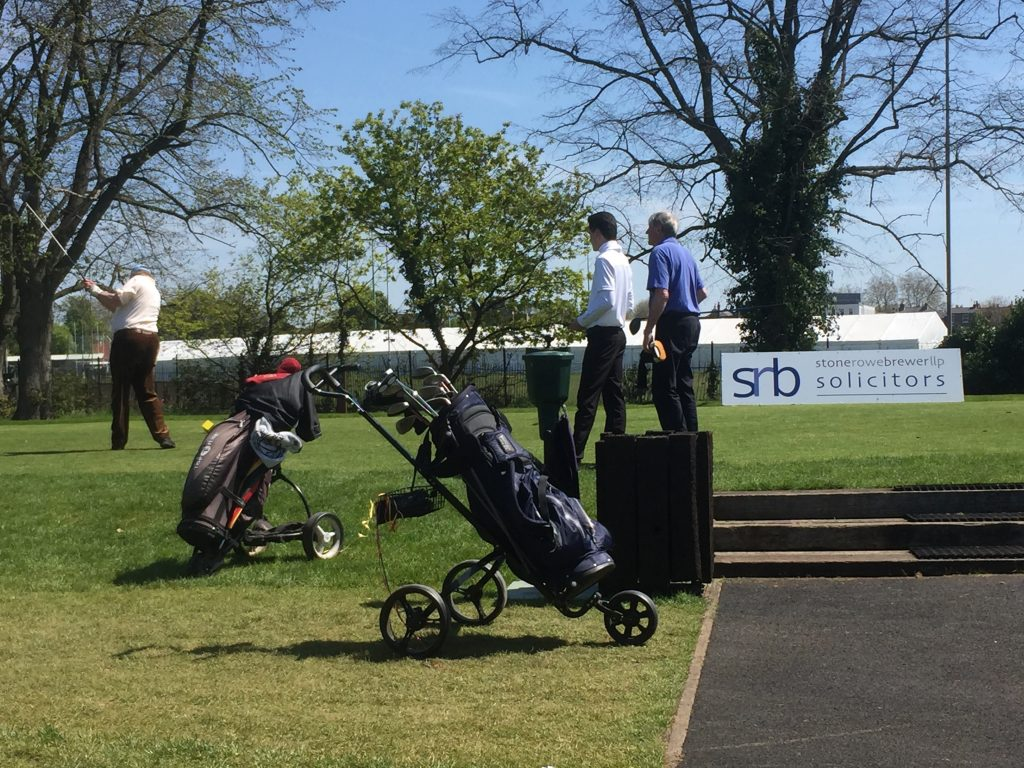 Golf day with SRB sponsorship