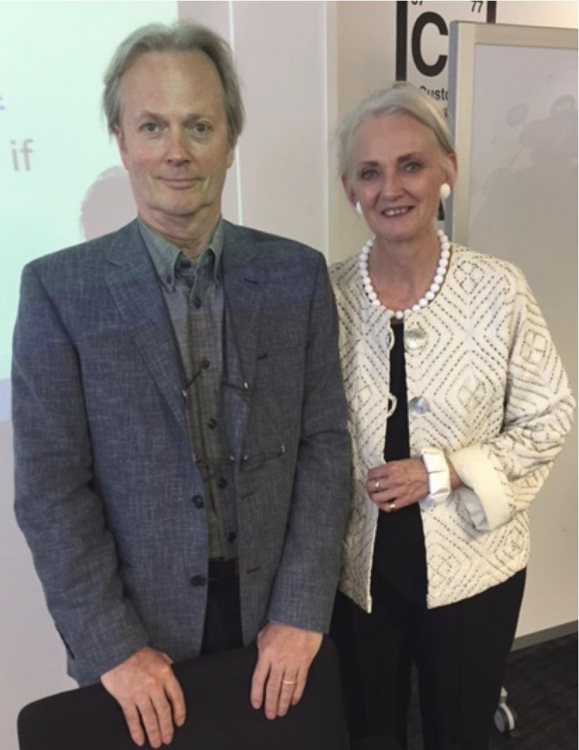 Robbie Clerke and Angela Lake-Carroll