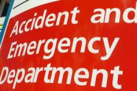 Accident & Emergency Department Sign