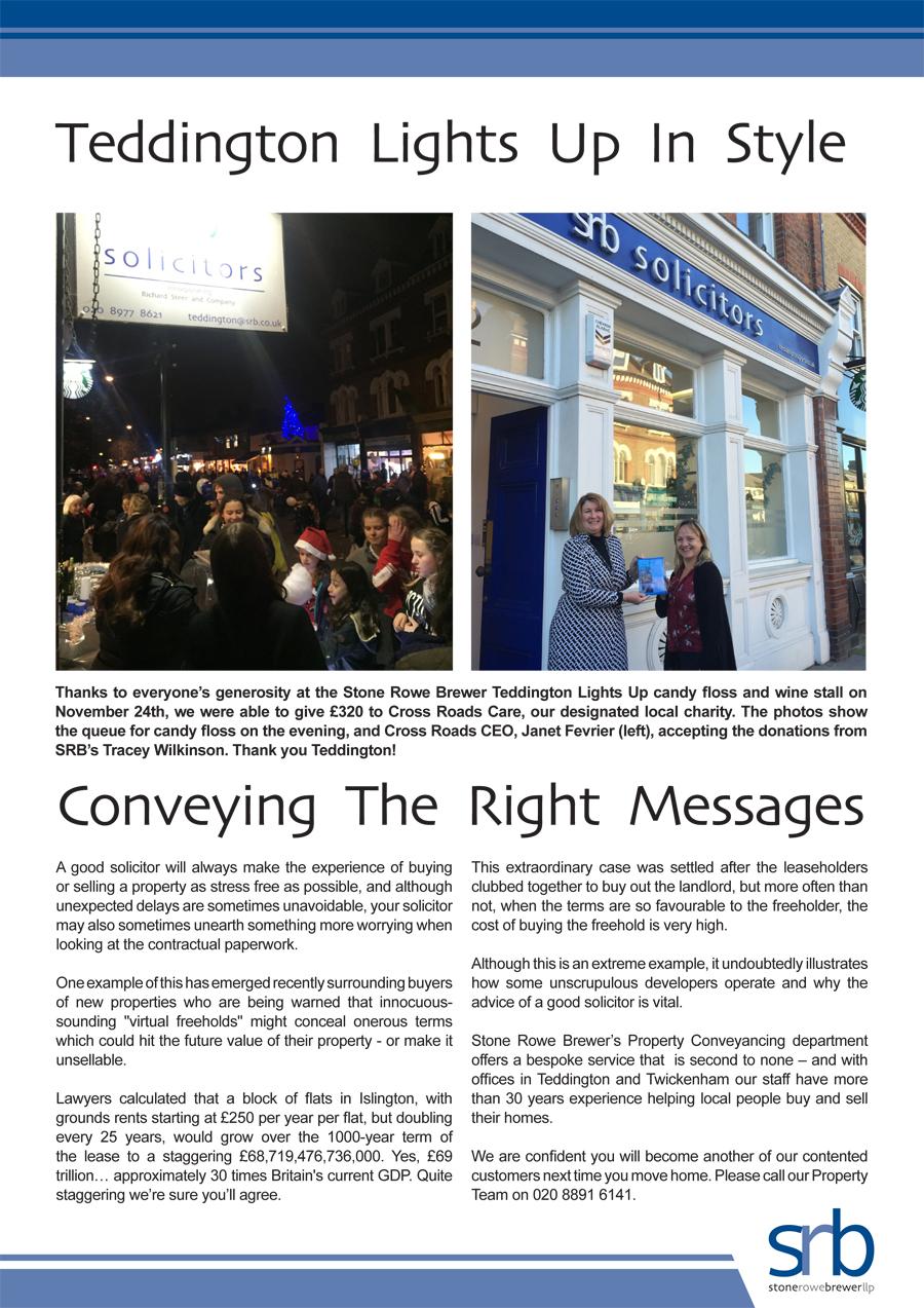 SRB Newsletter